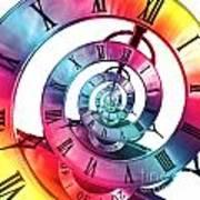 Infinite Rainbow 2 Art Print