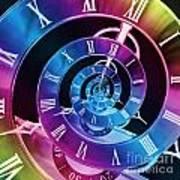 Infinite Time Rainbow 1 Art Print
