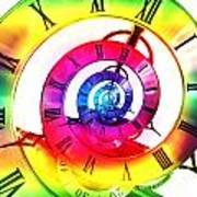 Infinite Time Rainbow 3 Art Print