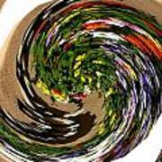 Infinity Flower Spiral 1 Art Print