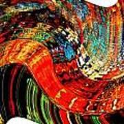 Infinity Sound Wave 2 Art Print