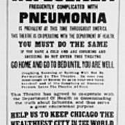 Influenza Poster Art Print