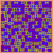 Infused Segments.13 Art Print