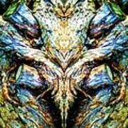 Ingrained Wings Art Print