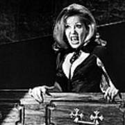 Ingrid Pitt In The House That Dripped Blood  Art Print by Silver Screen