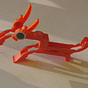 ink cartridge Reindeer Art Print by Alfred Ng