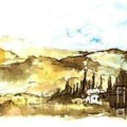 Ink Landscape Art Print