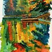 Inktober 21 Color Field Art Print