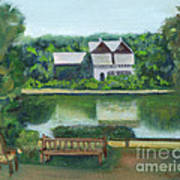 Inn At Lambertville Station Art Print