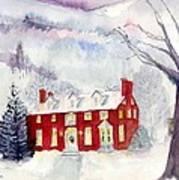 Inn At Spruce Creek Art Print