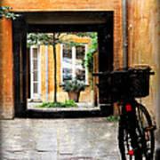 Inner Courtyard Art Print