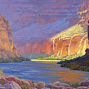 Inner Glow Of The Canyon Art Print