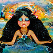 Inner Peace Art Print by Karin Taylor