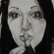 Inner Struggle Art Print by Corina Bishop
