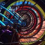 Inner Wheels  Art Print