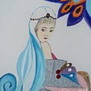 Innocent Girl Art Print