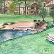 Innsbrook Hole 9 Art Print