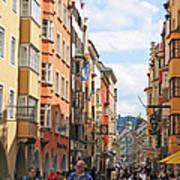 Innsbruck Color Art Print