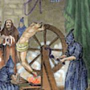 Inquisition Instrument Of Torture Art Print