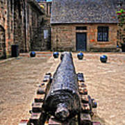 Inside A French Fort Art Print