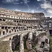 Inside Colosseum Art Print