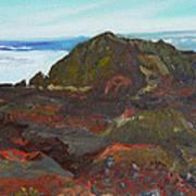 Inside Haleakala Art Print