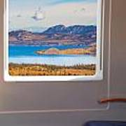 Inside High-speed Train Art Print