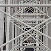 Inside Of The Ferris Wheel Art Print