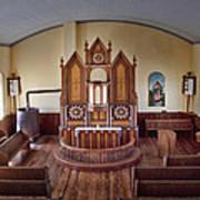 Inside St Olaf Lutheran Church Art Print