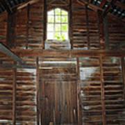 Inside The Barn Art Print