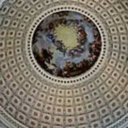 Inside The Capitol Dome Art Print