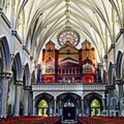 Inside The Cathedral  Art Print