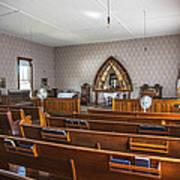 Inside The Church Art Print