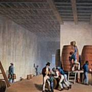 Inside The Distillery, From Ten Views Art Print