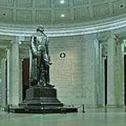 Inside The Jefferson Memorial Art Print
