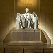 Inside The Lincoln Memorial Art Print