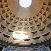 Inside The Pantheon - Rome - Italy Art Print