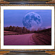 Inspiration In The Night Art Print