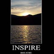 Inspire Art Print