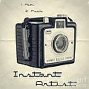 Instant Artist Art Print by Edward Fielding
