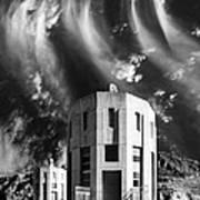 Intake Tower Hoover Dam Art Print