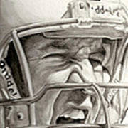 Intensity Peyton Manning Art Print