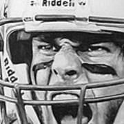 Intensity Tom Brady Art Print