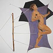 Intercepted Seven Figures In Limbo Art Print