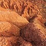 Interesting Desert Landscape Art Print