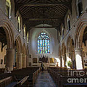 Interior Of St Mary's Church In Rye Art Print