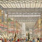 Interior Of The Crystal Palace, Pub Art Print