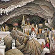 Interior Of The Grotto Of Nam Hou Art Print