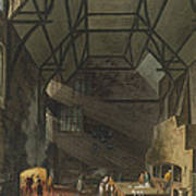 Interior Of The Kitchen, Trinity Art Print