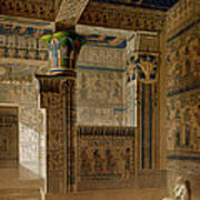 Interior View Of The West Temple Art Print by Le Pere